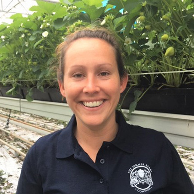 Alana Deacon, a harvest manager from The English Summer Berry Company