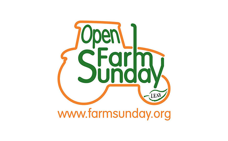 Open Farm Sunday logo.